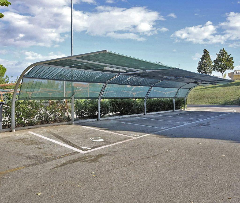 Elvaco MetPro nadstrešnice za automobile
