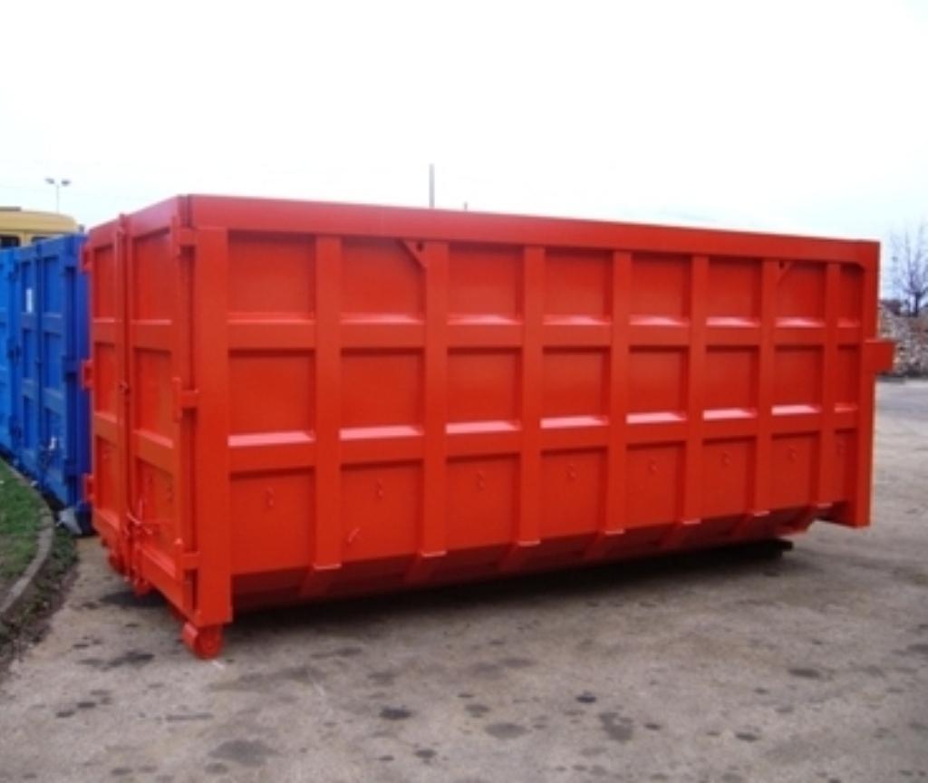 Elvaco MetPro rolo kontejneri