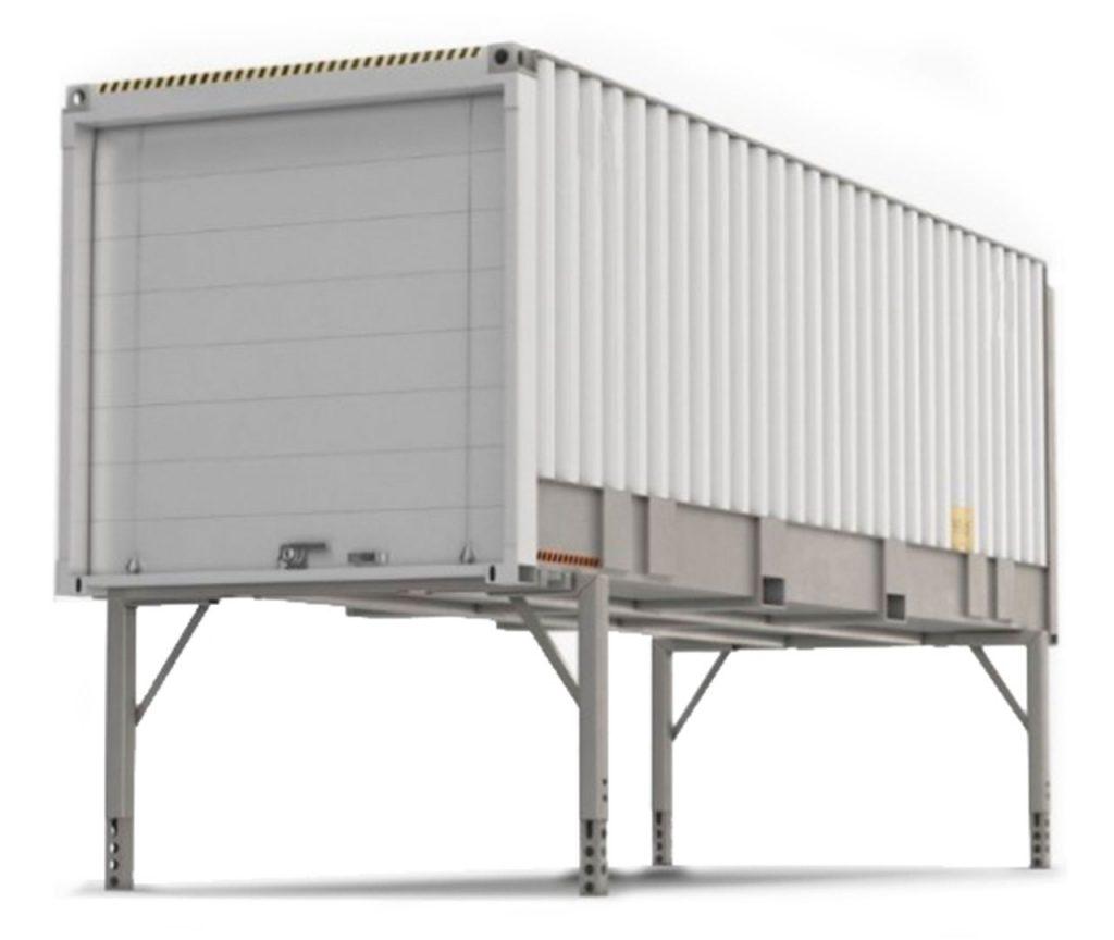 Elvaco MetPro swap body kontejneri