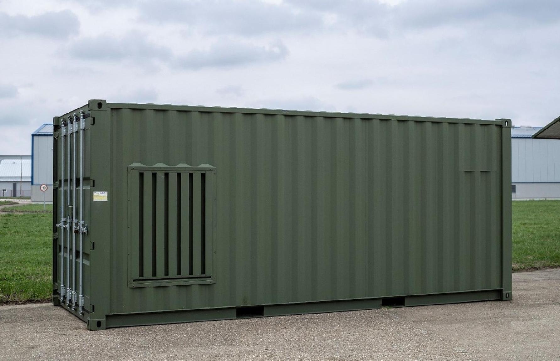 Elvaco MetPro Gen Set kontejneri