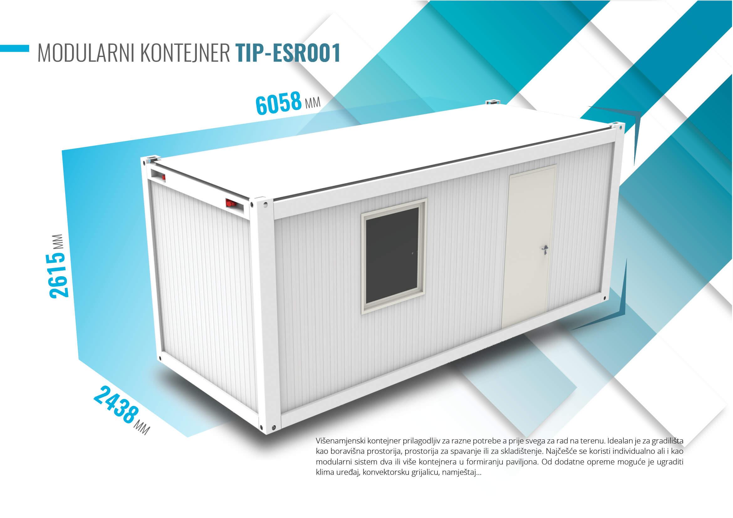 Elvaco MetPro kontejneri - Modularni sistemi